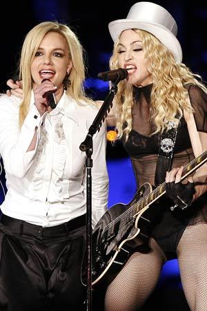 Madonna e Britney